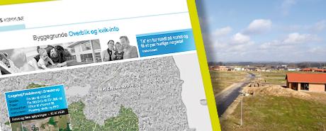 Website for salg af byggegrunde i Horsens kommune: Kun 8 klik – og du ved, om du er købt eller solgt...